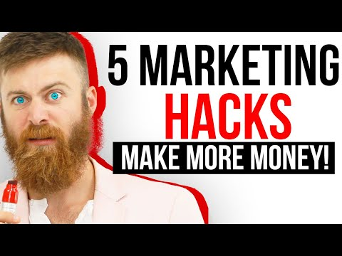 5 MARKETING HACKS THAT INCREASE YOUR SALES and MAKE YOU MORE MONEY